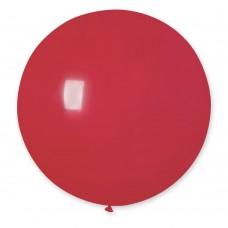 "18 ""(46см) куля латексна пастель червона / 45 (1шт) Gemar (Італія)"
