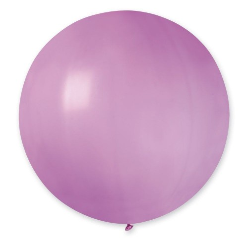 """31""""(78см) шар латексный пастель розовый/06 (1шт) Gemar (Италия)"""