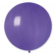 """18 """"(46см) куля латексна пастель фіолетова / 08 (1шт) Gemar (Італія)"""
