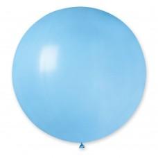 """18""""(46см) шар латексный пастель голубой/09 (1шт) Gemar (Италия)"""
