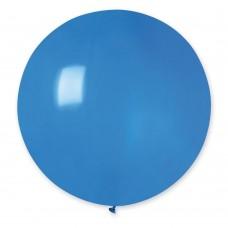 """19"""" (48см) куля латексна пастель синя / 10 (1шт) Gemar (Італія)"""