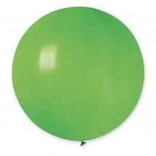 """31 """"(78см) куля латексна пастель зелена / 12 (1шт) Gemar (Італія)"""