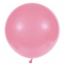 """18 """"(46см) куля латексна пастель рожева / 06 (1шт) Gemar (Італія)"""