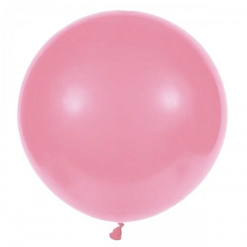 """31""""(78см) шар латексный пастель ярко-розовый/57 (1шт) Gemar (Италия)"""