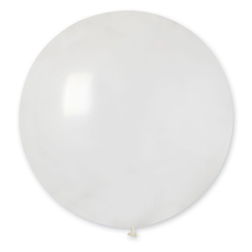 """31""""(78см) шар латексный кристалл прозрачный/00 (1шт) Gemar (Италия)"""