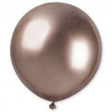 """18 """"(46см) латексна куля ХРОМ рожеве золото Gemar Італія (1шт)"""