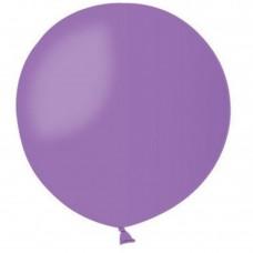 """31 """"(78см) куля латексна пастель лавандова / 49 (1шт) Gemar (Італія)"""