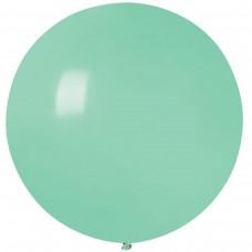 """18 """"(46см) куля латексна пастель м'ятна / 77 (1шт) Gemar (Італія)"""