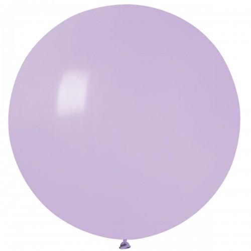 """31""""(78см) шар латексный пастель сирень/79 (1шт) Gemar (Италия)"""