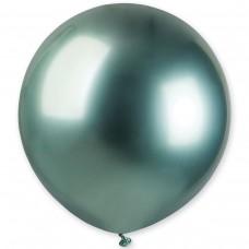 """18"""" (46см) латексный шар ХРОМ зеленый Gemar Италия (1шт)"""