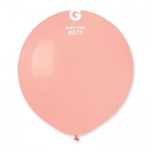 """31 """"(78см) куля латексна пастель ніжно-рожева / 73 (1шт) Gemar (Італія)"""