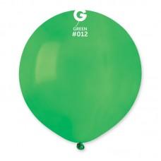 """18 """"(46см) куля латексна пастель зелена / 12 (1шт) Gemar (Італія)"""