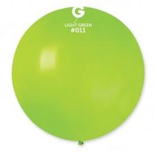 """18 """"(46см) куля латексна пастель салатова / 11 (1шт) Gemar (Італія)"""