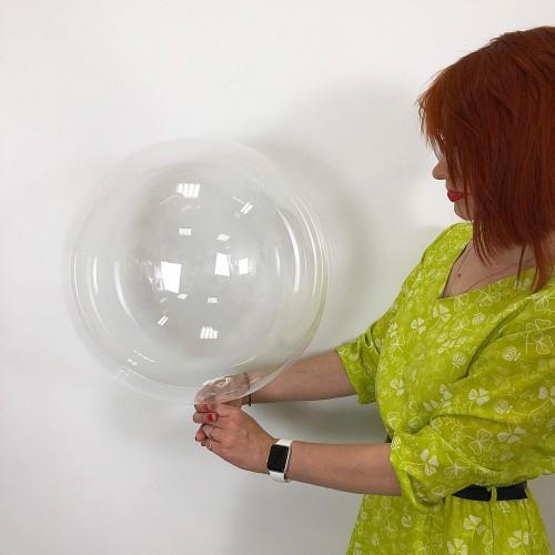 """Шар bubble / бабл 17"""" (42см)"""