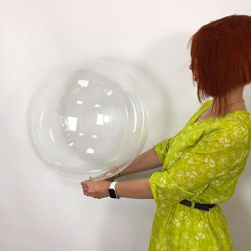 """Шар bubble / бабл 20"""" (50см)"""