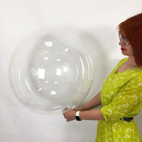 """Шар bubble / бабл 24"""" (60см)"""