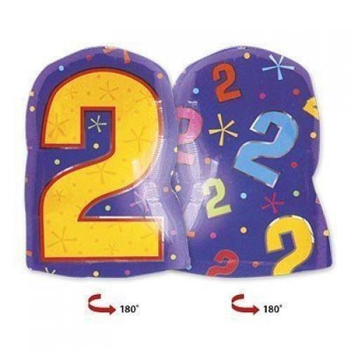 Цифра 2 фигура мульти (45см)