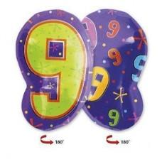 Цифра 9 фигура мульти (45см)