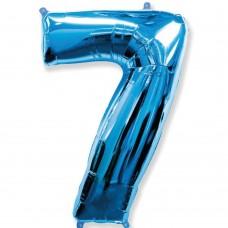 Цифра 7 blue (100см)