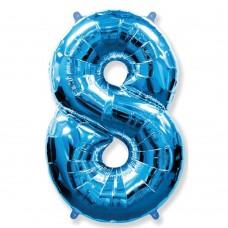Цифра 8 blue (100см)