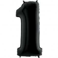 Цифра G 1 черная (100см)