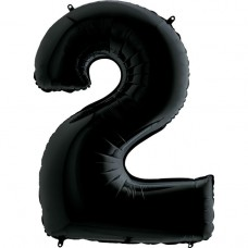 Цифра G 2 черная (100см)