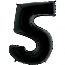 Цифра G 5 чорна (100см)