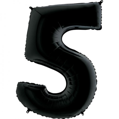 Цифра G 5 черная (100см)