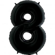 Цифра G 8 черная (100см)