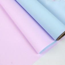 Калька двостороння рожево-блакитна 0,6х10м