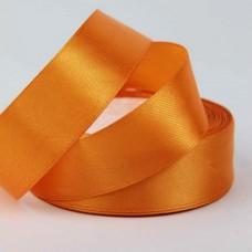 Лента АТЛАС оранжевая 2,5 см х 23м