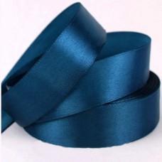Лента АТЛАС синяя 2,5 см х 23м