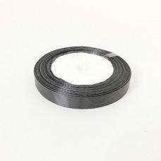 Лента АТЛАС 1,2 см х 23м  черная