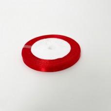Лента АТЛАС 0,7 см х 23м красная
