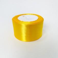 Лента АТЛАС 5 см х 23м мандарин