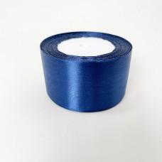 Лента АТЛАС 5 см х 23м темно-синий
