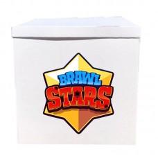 Наклейка на коробку Бравл Старс (50см)