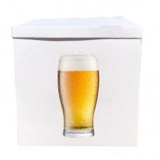 Наклейка на коробку бокал пива (50см)