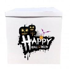 Наклейка на коробку Happy Halloween (50см)