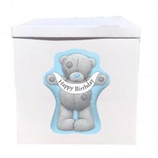 Наклейка на коробку мишка Тедди HB (50см)