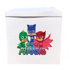 Наклейка на коробку Герои в масках (42см)