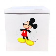Наклейка на коробку Микки (42см)