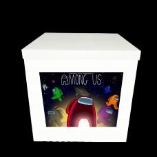 Наклейка на коробку Among Us (50см)