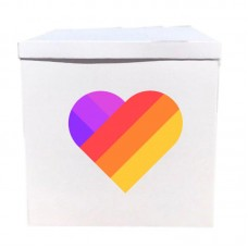 Наклейка на коробку Likee (37см)