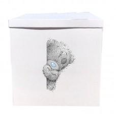 Наклейка на коробку Мишка Тедди (40см)