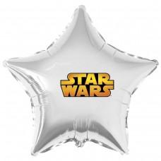 """Наклейка кольорова star wars на кулю 18 """"(45см)"""