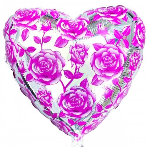 """18"""" розы розовые(fm)"""
