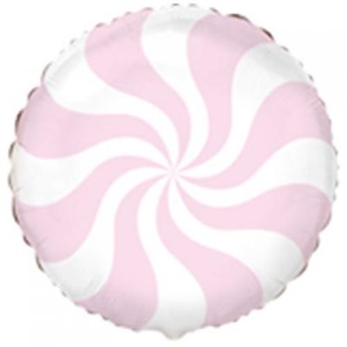 """18"""" (45см) Шар конфета пастель розовая /fm"""