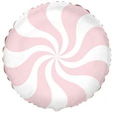 """18 """"(45см) Куля цукерка пастель лососева salmon rose / fm"""