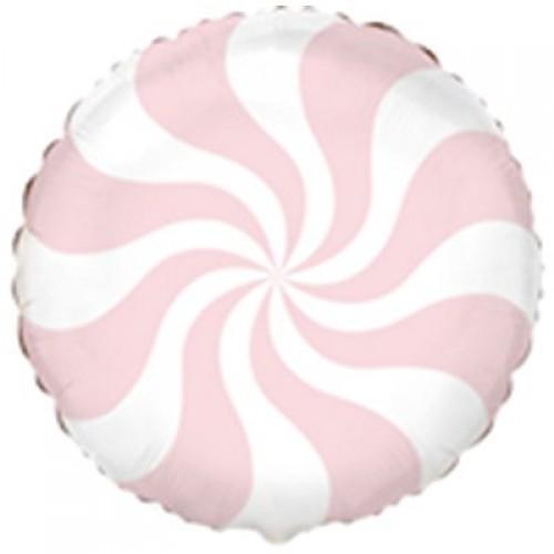 """18"""" (45см ) Шар конфета пастель лососевая salmon rose/fm"""
